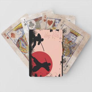 Shinobi Training Distressed Playing Cards
