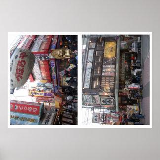 SHINSEKAI en Osaka JAPÓN Posters
