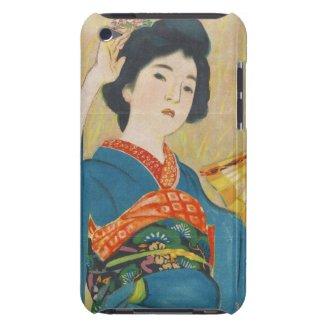 Shinsui Ito Maiko japanese vintage geisha portrait iPod Touch Case