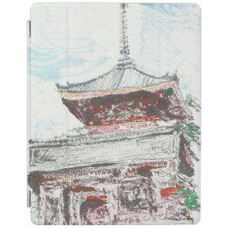 Shintennouji Temple Kyoto Japan iPad Case