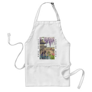 Shinto and its Architecture, Kameido Bridge Kawase Adult Apron