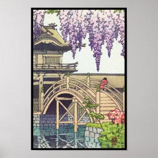 Shinto and its Architecture, Kameido Bridge Kawase Poster