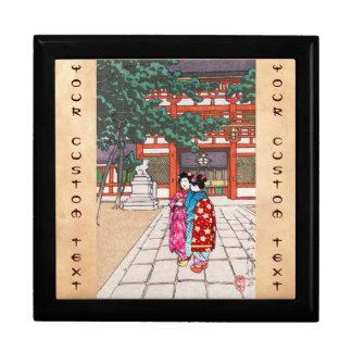 Shinto and its Architecture Yasaka Shrine Kyoto Trinket Box
