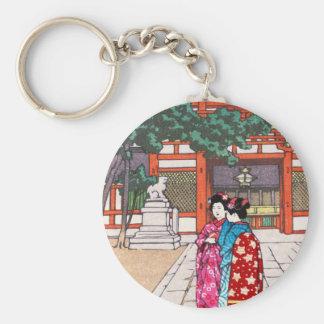 Shinto and its Architecture, Yasaka Shrine Kyoto Key Chain