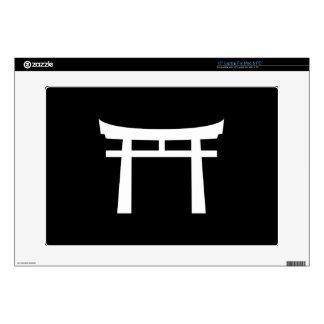 Shinto Gate Pictogram Latop Skin Skin For Laptop