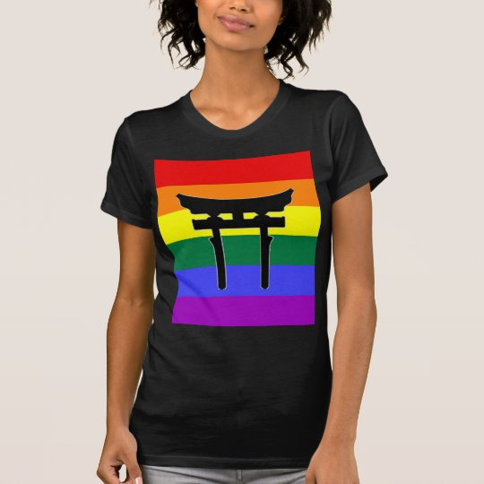 Shinto Gay Pride Flag T-Shirt