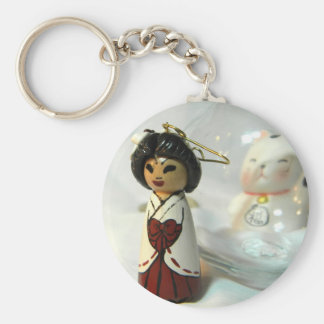 Shinto Priestess I Key Chain