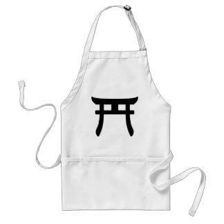 Shinto Symbol Adult Apron
