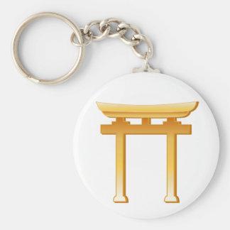 Shinto Symbol Keychain