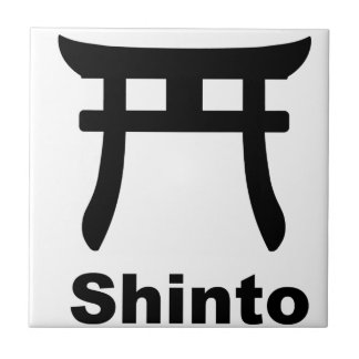 Shinto Symbol Tile