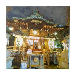 Shinto temple in Tokyo, Japan Ceramic Tile