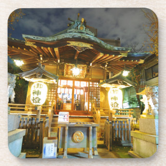 Shinto temple in Tokyo, Japan Drink Coaster