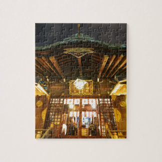 Shinto temple in Tokyo, Japan Jigsaw Puzzle