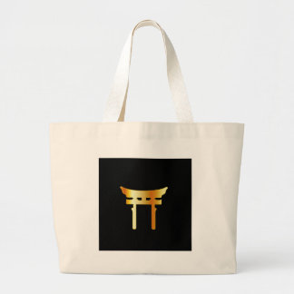 Shinto Torii Gate- Shintoism Large Tote Bag