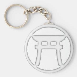 Shinto Torii Keychains
