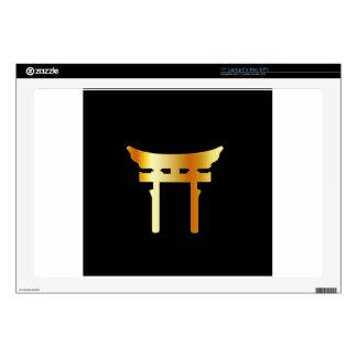 Shintoism sintoísta de la puerta de Torii Portátil Skins