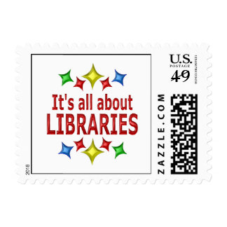 Shiny About Libraries Stamps