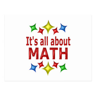 Shiny About Math Postcard