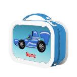 Shiny Blue Racing Car Yubo Lunchboxes