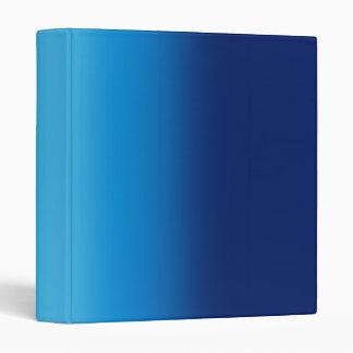 Shiny Blues Background Binder
