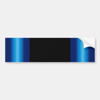 Shiny Blues Background Bumper Sticker