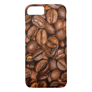Shiny brown coffee beans iPhone 8/7 case