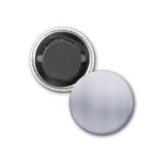 Shiny Brushed Aluminum Textured 1 Inch Round Magnet