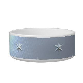 Shiny Brushed Star Metallic Texture Bowl