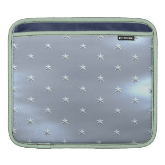 Shiny Brushed Star Metallic Texture Sleeve For iPads