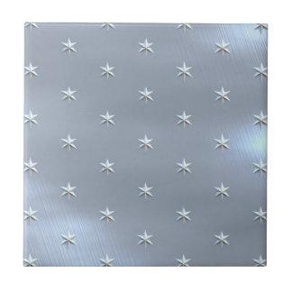 Shiny Brushed Star Metallic Texture Ceramic Tile