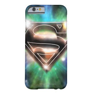Shiny Burst Superman Logo Barely There iPhone 6 Case