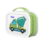 Shiny Cement Truck Lunch Boxes