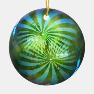 Shiny Christmas Baubles Ornament