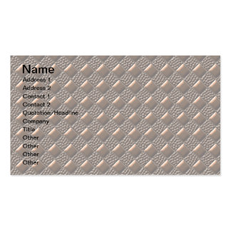 Shiny Copper Business Card