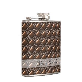Shiny Copper Hip Flasks
