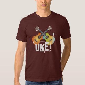 Shiny Crossing Colorful Ukuleles Uke! Shirt