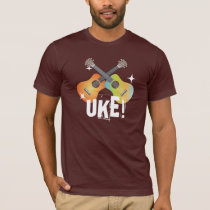 Shiny Crossing Colorful Ukuleles Uke! Shirt