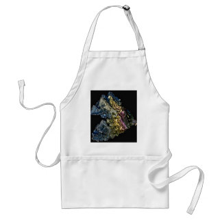 Shiny crystals of Native bismuth Adult Apron