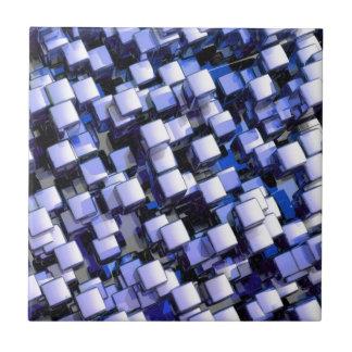 shiny cubes ceramic tile