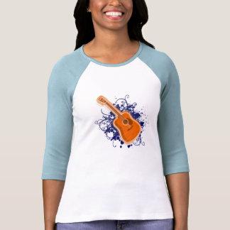 Shiny de Guitar splatter T-shirt