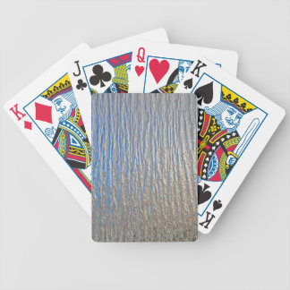 Shiny decorative metal sheet bicycle playing cards