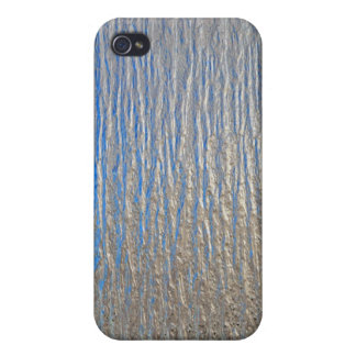 Shiny decorative metal sheet iPhone 4 cases