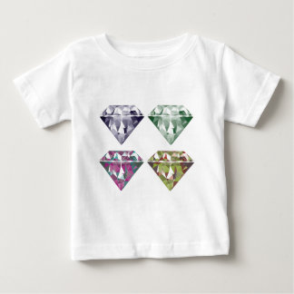Shiny Diamonds Baby T-Shirt