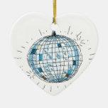 Shiny Disco Ball Christmas Tree Ornament