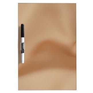 Shiny fabric dry-erase board