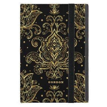Shiny faux gold case for iPad mini