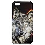 Shiny Fractalius Wolf iPhone 5C Cases