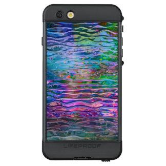 Shiny Glass Color Reflection Pattern LifeProof NÜÜD iPhone 6s Plus Case