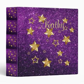 purple and gold stars - photo #24