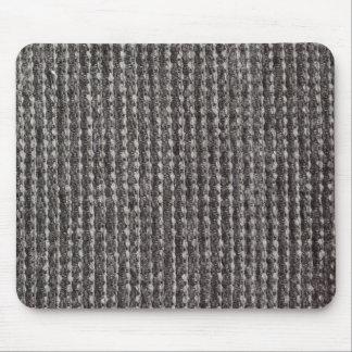 Shiny gray strings mouse pad